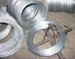 Silver Thin Redrawing Hot Dipped / Electro Galvanized Iron Wire 0.38mm