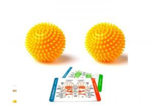 China 6cm Foot Roller Spiky Massage Ball For Yoga Fitness Sports Health Care on sale