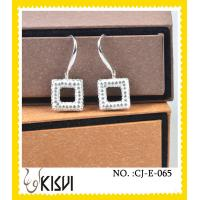 2012 newe fashion design handcrafted crystal jewelry / earrings with factory price
