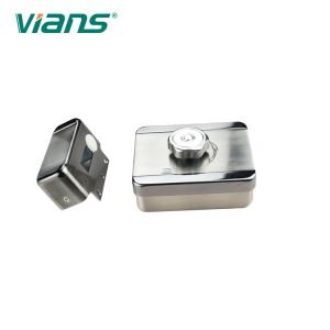 China Single Cylinder Electric Motor Lock , CE FCC Entrance Door Locks 5 Years Warranty on sale