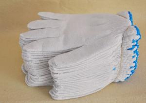 China 10 gauge high quality industry white safety cotton glove on sale