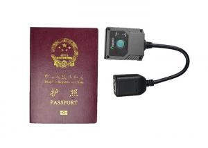 China Mini Portable MRZ OCR Passport Reader for Airport / Hotel / Travel Agency on sale