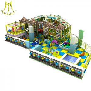 China Hansel  Children commercial indoor playground equipment kids playzone items kids play room on sale
