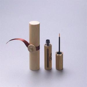 China high-grade bamboo empty mascara tube/lip gloss bottle/eyelash tube natural bamboo cosmetic on sale