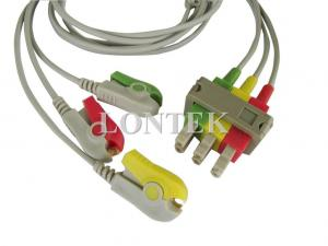 China Philips M1613A IEC / ECG Patient Cable , 3 / AA Lead Wires on sale