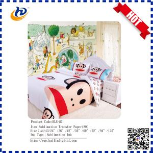 China Hot Selling Factory Price Sublimation Transfer Paper Anti-Curling A4 Size on sale