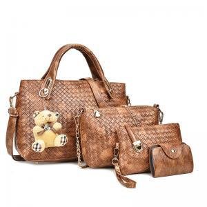 China Women Lady Leather Clutch Short Black Wallet PU Card Holder Purse Handbag Bag on sale