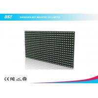 P10 White color outdoor 32 X 16 Pixels Led Sign Modules High Definition