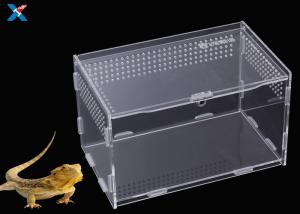 China Customized Clear Acrylic Furniture , Acrylic Reptile Box OEM / ODM Available on sale