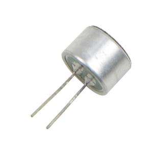 China 2 Terminals Electret Condenser Microphone -40±3dB Size 9.7*6.7 mm For Telephones on sale
