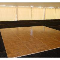 Hot Sale Newest Cheap portable dance floor prices Cam-Lock Wooden Dance Floor