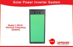 China 1KVA / 800W Off Grid Solar Power Systems , Pure Sine Wave Output Wave Form Solar Power Inverters on sale