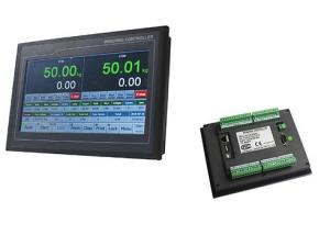 China TFT Touch Two Scale Packing Digital Weighing Controller With Anti Vibration Filter on sale