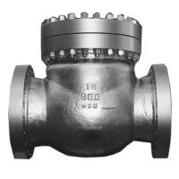 Carbon Steel Swing Check Valve With Swing Full Bore And 150# RF Flange