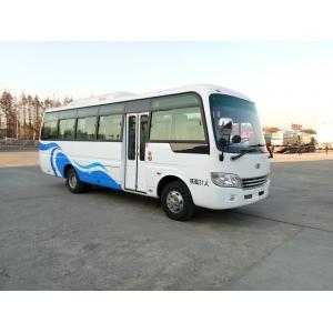 China Diesel Engine Star Minibus Tourist Star School Bus With 30 Seats 100km/H on sale