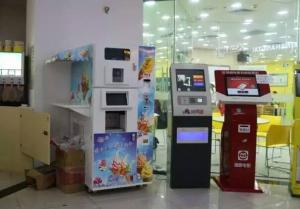 China Soft Ice Cream Ball / Ice Cream Cone Vending Machine For Entertainment Center on sale