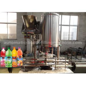 China Small Split Beverage Filling Machine 2.25KW No Fluid Loss For Fruit Juice on sale