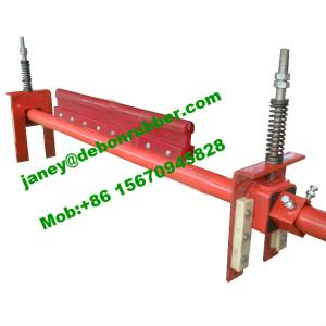 China Conveyor components: conveyor belt cleaner plow and polyurethane blade on sale