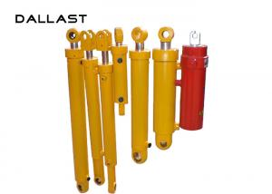 China RoHS Double Acting Chromed Hydraulic Oil Cylinder , Custom Hydraulic Cylinders on sale