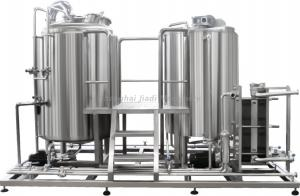 China Automatic Dairy Production Line / Yogurt Making Machine With High Speed Emulsification Tank on sale
