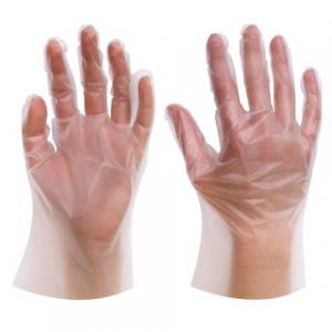 China Disposable Medical  Examination TPE Gloves Plastic Food Grade Gloves on sale