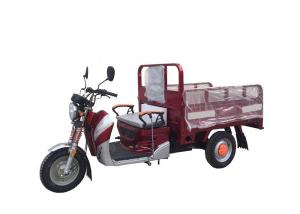 China 50cc 110cc 125cc Three Wheel Cargo Motorcycle , Motorized Cargo Trike / Moped on sale