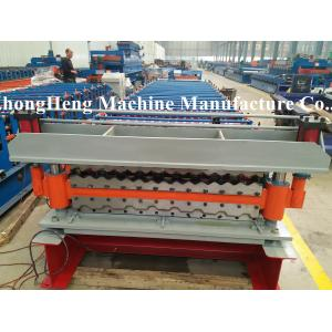 China Full Automatic None - Stopping Stud And Track Roll Forming Machine Text Screen on sale