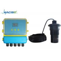 Remote Type Ultrasonic Fluid Lever Meter Range 5M - 60M For Municipal Project
