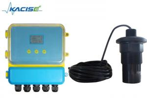 China Remote Type Ultrasonic Fluid Level Meter Range 5M - 60M For Municipal Project on sale
