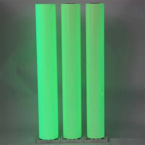 China Self Adhesive Printable PVC Photoluminescent Vinyl Film on sale