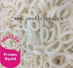 frozen squid calamari rings and tentacles