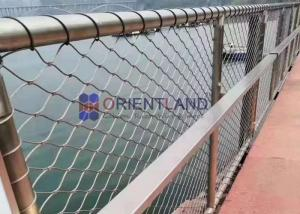 China Building Facade Screens Stainless Steel Wire Rope Mesh Balustrade & Railing Mesh Bird Protection Netting on sale