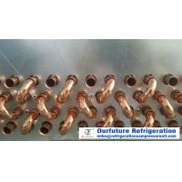 China Water Flushing Defrost Type Unit Cooler Evaporator , Copper Tube Aluminum Fin Evaporators on sale