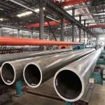 Extruded Aluminum Round Pipe Customized Length High Strength 6061 Grade