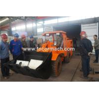 0.8 yd mini scooptram Diesel underground LHD loader used for various mining with CE approved made in china