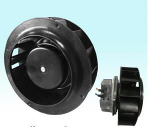 China EC Backward Curved Centrifugal Fan Blower With Galvanised Sheet Steel Meterial on sale