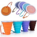 Mini Travel 270ML 9.2oz Collapsible Silicone Coffee Cup