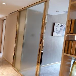 China gold metal trim for doors windows mirror color stainless steel material on sale