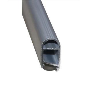 China Ellipse Tubular Aluminum Alloy Tube  , Oval Aluminum Pipe For Decoration on sale