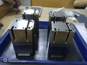 China Precise Plastic Injection Mold Components 0.8kg Each in 1.2343esu Steel on sale