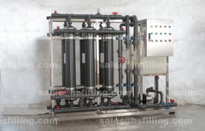 China Portable Waste Water Treatment Equipments / Machine for Beverage Plant 1T - 10T on sale