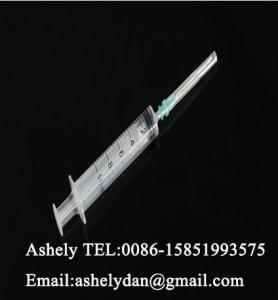 China Syringe and needle 10ml Luer Slip on sale