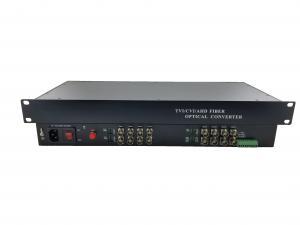 China 1U Rack mount chassis HD 1080p Video Converter support CVI / AHD / TVI encoder multiplexer on sale