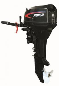China Hidea 9.9hp Two Stroke Outboard Boat Engine With CE Approved on sale
