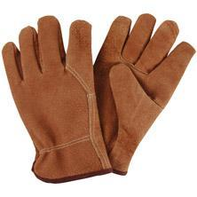 China Yellow Spandex PU Leather Garden Gloves ZMR662 on sale
