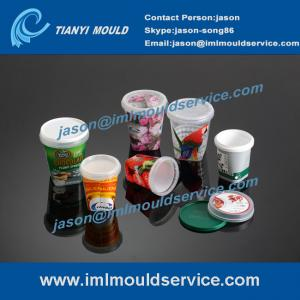 China 200ml-1000ml in mold labeling plastic food container product sets on sale
