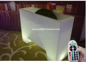 China Luminous LED Bar Counter Table Large Ice Bucket Type Waterproof For Rental on sale