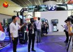 VR Battle Game Virtual Reality Simulator With 2 * 32 Screen Displays