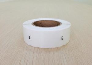 China Durable Plain Blank Sticker Labels Waterproof For Zebra Thermal Printer on sale