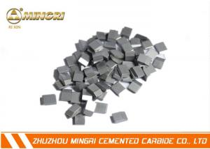 China Welding Tungsten Carbide Saw Tips , Tungsten Carbide Tool Tips Cutting Plywood supplier